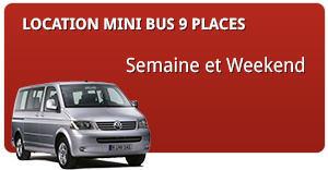 Location de mini bus 9 places